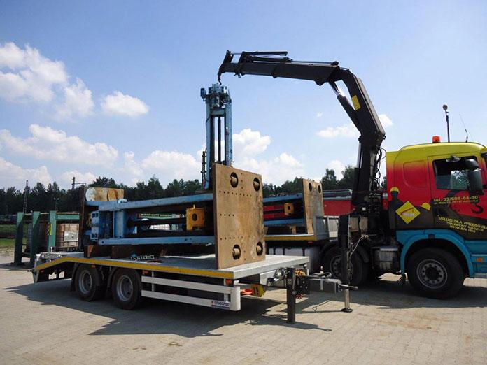 Odpowiedni transport ciężkich maszyn